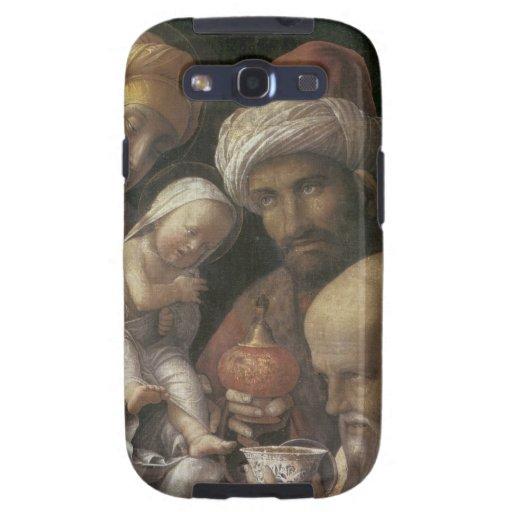 Adoración de Andrea Mantegna de unos de los reyes  Galaxy SIII Coberturas