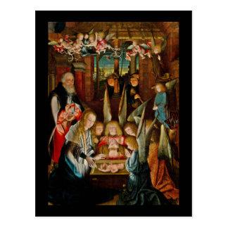 Adoración de los ángeles postales
