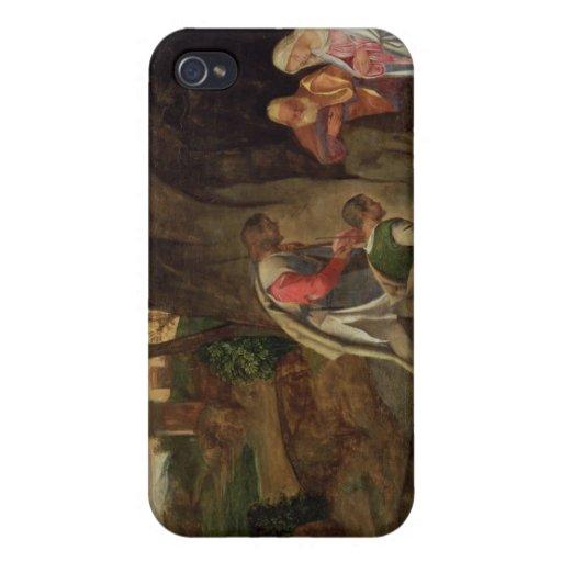 Adoración de los pastores, 1510 iPhone 4 funda