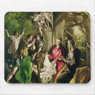 Adoración de los pastores, 1603-05 tapete de ratones
