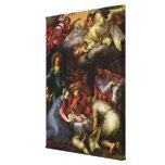 Adoración de los pastores, 1612 lienzo envuelto para galerias