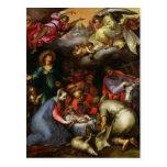Adoración de los pastores, 1612 tarjeta postal