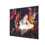 Adoración de los pastores de Gerard van Honthorst Impresion En Lona