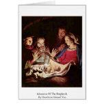 Adoración de los pastores de Honthorst Gerard Van Felicitacion