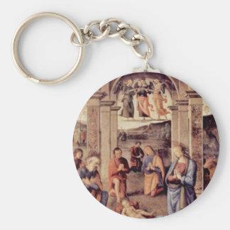 Adoración de los pastores de Perugino Pedro Llaveros