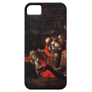 Adoración de los pastores por Caravaggio (1609) iPhone 5 Carcasa