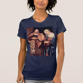 Adoración de los pastores por Giorgione Camiseta