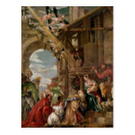 Adoración de los reyes, 1573 postales