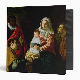 """Adoración de los reyes, 1619 carpeta 1 1/2"""""""