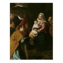 Adoracion de los Reyes Postcard