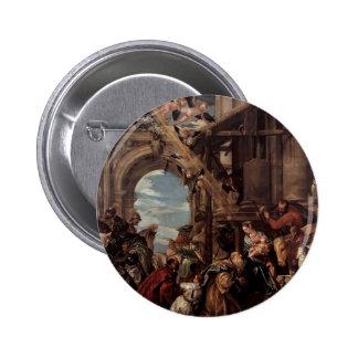 Adoración de Pablo Veronese- de unos de los reyes  Pin