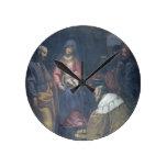 Adoración de unos de los reyes magos, 1629 (aceite reloj redondo mediano