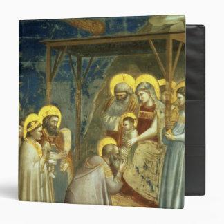 """Adoración de unos de los reyes magos, c.1305 carpeta 1 1/2"""""""