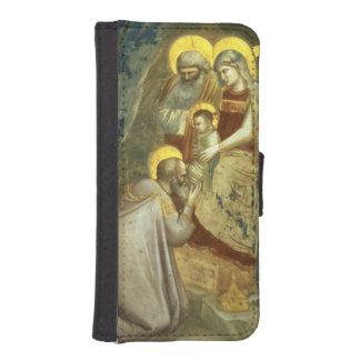 Adoración de unos de los reyes magos, c.1305 billetera para teléfono