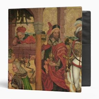 """Adoración de unos de los reyes magos, c.1475 carpeta 1 1/2"""""""