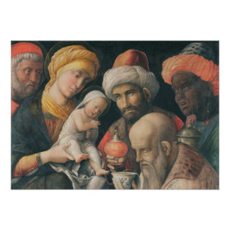 Adoración de unos de los reyes magos, c.1495-1505 impresiones
