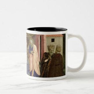 Adoración de unos de los reyes magos, de la taza de dos tonos