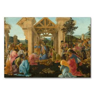 Adoración de unos de los reyes magos por Botticell