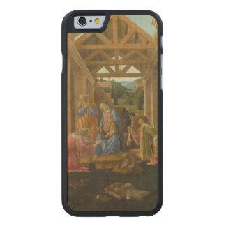 Adoración de unos de los reyes magos por funda de iPhone 6 carved® de arce