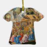 Adoración de unos de los reyes magos (por Fra Ange Ornamentos Para Reyes Magos