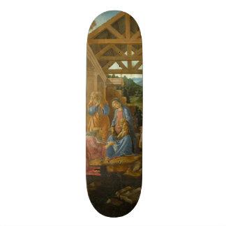 Adoración de unos de los reyes magos por tablas de skate