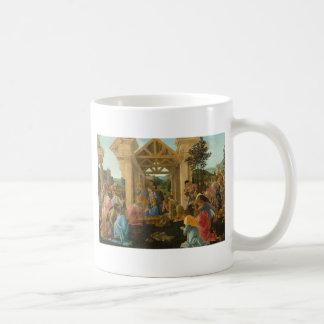 Adoración de unos de los reyes magos por taza clásica