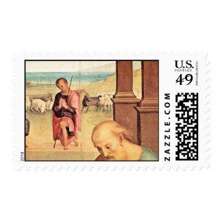 Adoración del detalle de los pastores por Perugino Envio