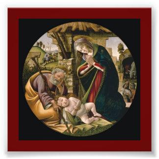 Adoración del niño de Cristo Fotografías