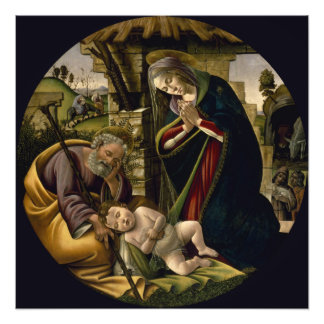 Adoración del niño de Cristo por Botticelli Impresiones Fotograficas
