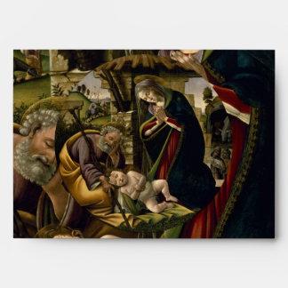 Adoración del niño de Cristo por Botticelli