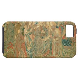 Adoración del niño de Cristo (tapicería) Funda Para iPhone SE/5/5s