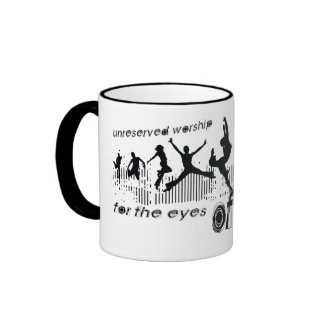 Adoración sin reservas (para los ojos de dios, no  taza de café