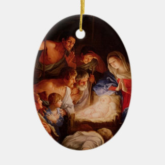 Adoration by the Sheperds Ornament