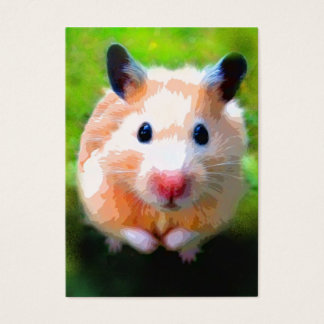 Adoration (Hamster) ACEO Art Trading Cards