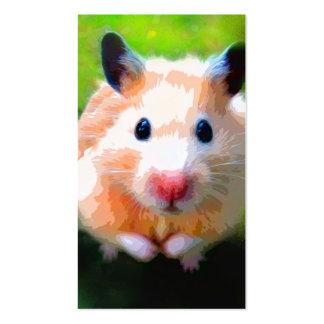 Adoration (Hamster) Business Cards