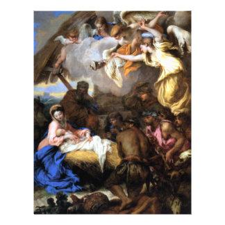 Adoration Jesus Mary Joseph Shepherds -Castiglione Flyer