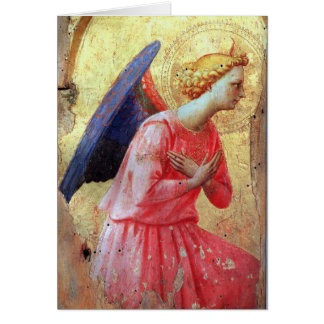 Adoration of an Angel Greeting Cards