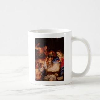 Adoration-of-baby-Jesus-by-shepherds-reni Coffee Mug