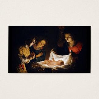 Adoration of Child Adorazion del Bambino Business Card