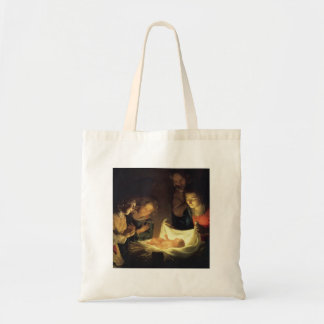 Adoration of Child Adorazion del Bambino Tote Bag