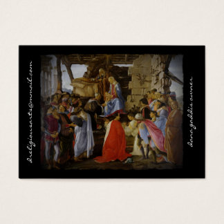 Adoration of Magi Business Card