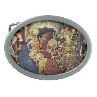 Adoration of  Magi (c1370-1427) Magi in Adoration Belt Buckle