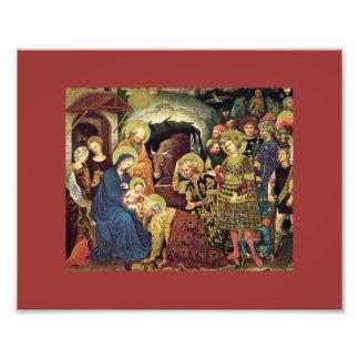 Adoration of  Magi (c1370-1427) Magi in Adoration Photo Print
