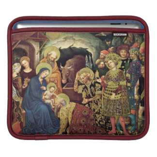 Adoration of  Magi (c1370-1427) Magi in Adoration Sleeve For iPads