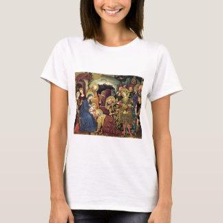 Adoration of  Magi (c1370-1427) Magi in Adoration T-Shirt
