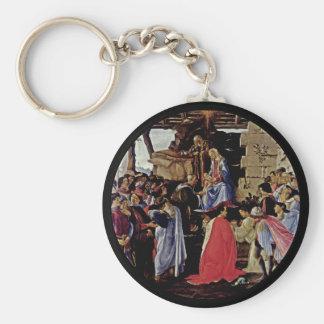 Adoration of Magi Keychain