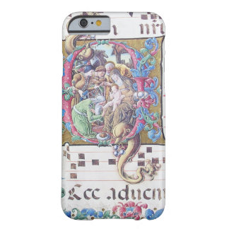 ADORATION OF MAGI , NATIVITY MONOGRAM WITH DOLPHIN BARELY THERE iPhone 6 CASE