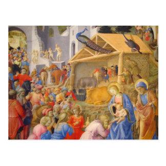 Adoration of Magi Postcard