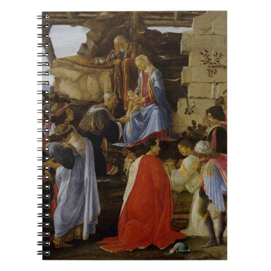Adoration of Magi Spiral Notebook