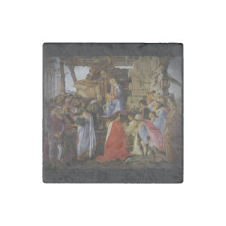 Adoration of Magi Stone Magnet